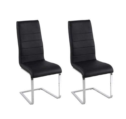 AXECH 155 (Black) Chairs(Pack of 2)